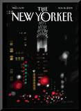 The New Yorker Cover - November 16, 2009 Mounted Print by Jorge Colombo