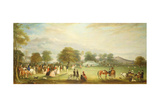 Archery Meeting in Bradgate Park, Leicestershire, 1850 Giclee Print by John E. Ferneley