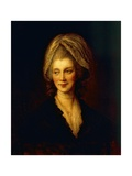 Portrait of Charlotte of Mecklenburg-Strelitz Giclee Print by Thomas J. Somerscales