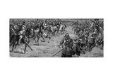 The Battle of Naseby Giclee Print by C.l. Doughty
