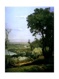 Near Perugia, Italy, 1872 Giclee Print by George Snr. Inness