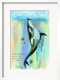 Whale-a-la Prints by Lora Zombie