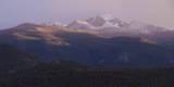Vista of Long's Peak from Moraine Park in Rocky Mountain National Park, Colorado,USA Papier Photo par Anna Miller
