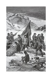 The Rescue, June 23, 1884, Pub. London 1886 Giclee Print by J. Steeple Davis
