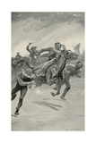 """Black Thursday"", February 6Th, 1851 Giclee Print by Stanley L. Wood"