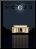 The New Yorker Cover - November 17, 2008 Mounted Print by Bob Staake