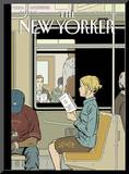 The New Yorker Cover - November 8, 2004 Mounted Print by Adrian Tomine