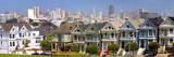 Row of Victorian Houses in San Francisco Photographic Print by Anna Miller