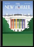 The New Yorker Cover - May 21, 2012 Mounted Print by Bob Staake