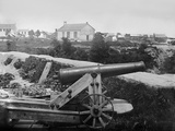 Confederate 32-Pounder Gun Captured Outside Yorktown, Virginia, Ca. July 1862 Photographic Print by George N. Barnard