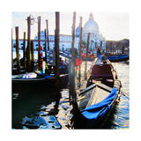Venice Gondola Prints by  Tosh