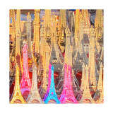 Eiffel Tower Models Prints by  Tosh