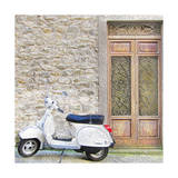 Vespa with Porte Vecchio Posters by  Tosh
