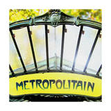 Metropolitain Entrance Prints by  Tosh