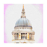 St Pauls Cathedral Dome Posters by  Tosh