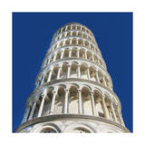 Leaning Tower of Pisa Premium Giclee Print by  Tosh