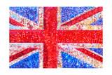 Union Jack Bedazzled Plakat af  Tosh