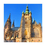 St. Vitus Cathedral Prints by  Tosh