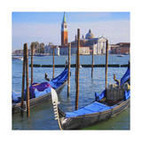 Venice Lagoon with Gondola Posters by  Tosh