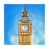 Big Ben Clock Tower Prints by  Tosh