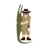 Kev from Darwin Premium Giclee Print by  Tosh