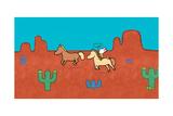 Didou - Louie the Cowboy Prints by Yves Got