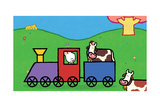 Didou - Louie in the Train Prints by Yves Got