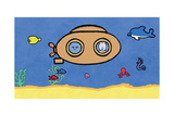 Didou - Louie Under the Sea Print by Yves Got