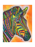 Zebra Giclee Print by Dean Russo