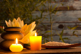 Spa Still Life with Aromatic Candles Posters by  Kesu01