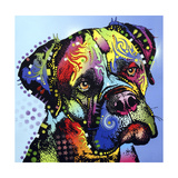 Mastiff Warrior Giclee Print by Dean Russo