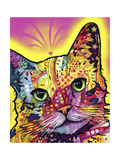 Tilt Cat Wydruk giclee autor Dean Russo