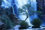 Australia Waterfall in Forest Posters by  Nosnibor137