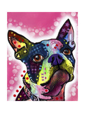 Boston Terrier Giclee Print by Dean Russo