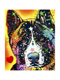 Akita Giclee Print by Dean Russo
