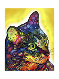 Confident Cat Giclee Print by Dean Russo
