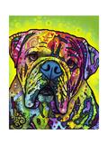 Hey Bulldog Giclee-trykk av Dean Russo