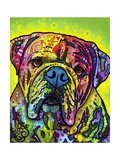 Hey Bulldog Giclée-trykk av Dean Russo