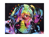 Young Mastiff Giclee Print by Dean Russo