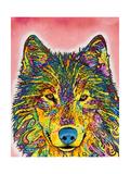 Wolf Giclee-trykk av Dean Russo