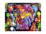 The Brooklyn Pit Bull Giclee Print by Dean Russo