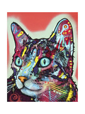 Curious Cat Giclee Print by Dean Russo