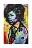 Hendrix Giclee Print by Dean Russo