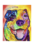 Have Pittie Giclee Print by Dean Russo
