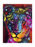 Young Lion Giclée-tryk af Dean Russo