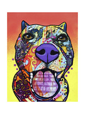 Bark Don't Bite Giclee Print by Dean Russo