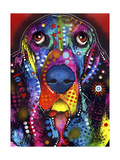 Basset Giclee Print by Dean Russo