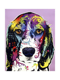 4 Beagle Giclee Print by Dean Russo