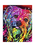 Yorkie Giclee Print by Dean Russo