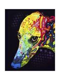 Greyhound Giclée-trykk av Dean Russo